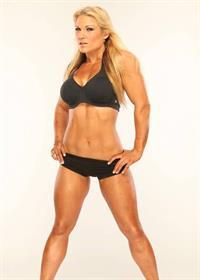 Beth Phoenix in a bikini