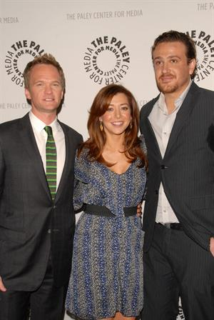 Alyson Hannigan at the How I Met Your Mother's 100th episode celebration on January 7, 2009