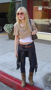 Amanda Michalka in Beverly Hills on February 2, 2012