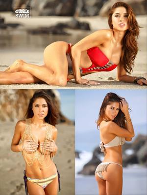 UFC's Arianny Celeste Fitness Gurls 2014