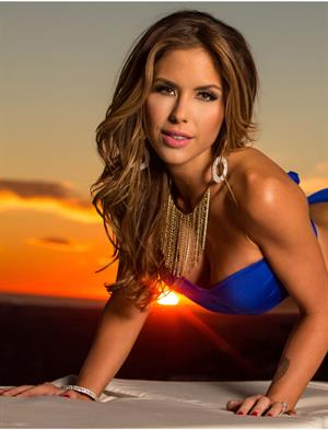 UFC's Arianny Brittany Palmer Fitness Gurls 2014