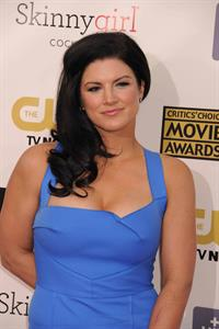 Gina Carano at the 18th Annual Critics' Choice Movie Awards, 10 Jan 2013