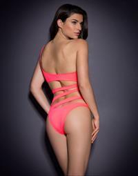 Nicole Harrison in lingerie - ass