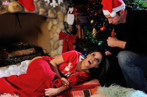 All I Want For Christmas.. featuring Aleksa Nicole | Twistys.com