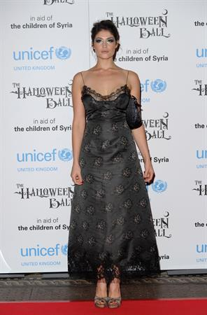 Gemma Arterton – UNICEF Halloween Ball 10/31/13