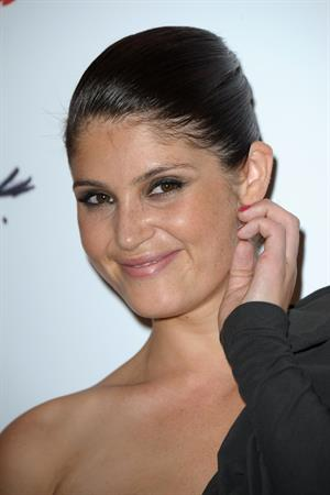 Gemma Arterton attending the Lancome Show by Alber Elbaz party in Paris - July 2, 2013