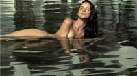 Diana Bouchardet in a bikini