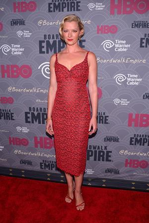 Gretchen Mol  Boardwalk Empire  Season Four New York Premiere, September 3, 2013