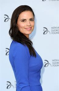 Hayley Atwell Novak Djokovic Foundation - London Gala Dinner, July 8, 2013