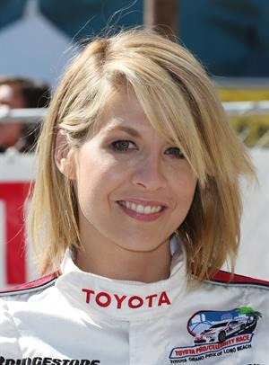 Jenna Elfman 8th Annual Toyota Pro/Celebrity Race-Practice Day 09-04-2013