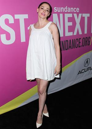 Rose McGowan attending the premiere of  Life After Beth  during the 2014 Sundance NextFest on August 6, 2014
