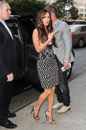 Megan Fox at Teenage Mutant Ninja Turtles New York Premiere August 6, 2014