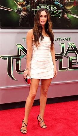 Megan Fox at the Teenage Mutant Ninja Turtles L.A. premiere