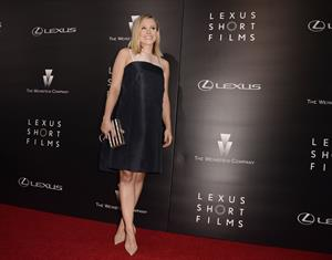 Kristen Bell attending the Lexus Short Films premiere in L.A. July 30, 2014