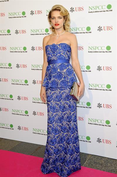 Natalia Vodianova - Pop Art Ball at Banqueting House, May 24, 2012