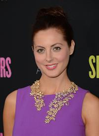 Eva Amurri attends the Spring Breakers at ArcLight Cinemas in Hollywood on March 14, 2013