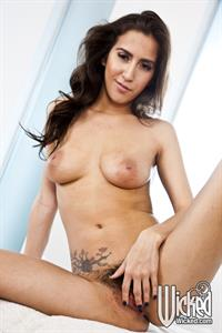 April O'Neil - pussy and nipples
