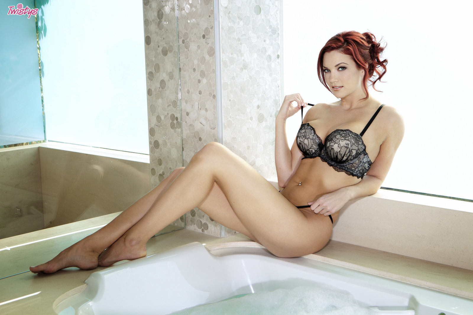 Come Play In The Bubbles.. featuring Jayden Cole | Twistys.com