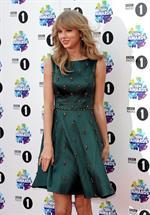 Taylor Swift attending the BBC Radio 1 Teen Awards 11/3/13