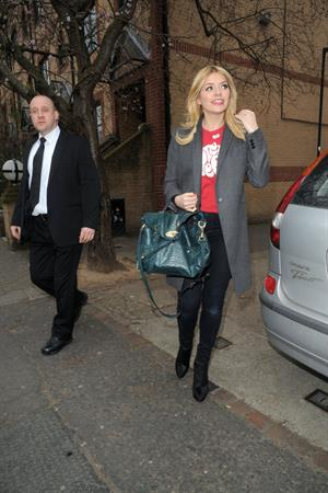 Holly Willoughby Riverside studios in London, March 6, 2013