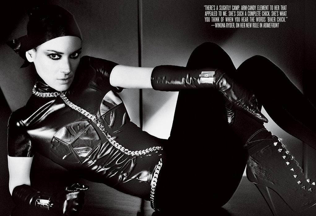 Winona Ryder – V Magazine Winter 2013/14 issue