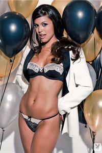 Raquel Pomplun in lingerie