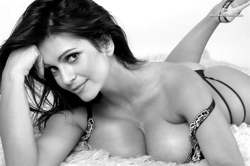 Denise Milani in lingerie