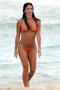 Gabrielle Anwar in a bikini