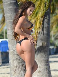 Michelle Lewin in a bikini - ass