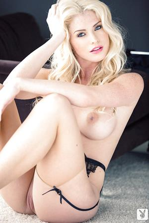 Blonde Carly Lauren nude for Playboy