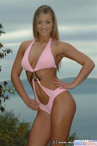 Noemi Olah in a bikini