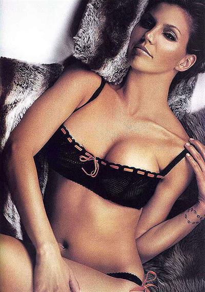 Charisma Carpenter in lingerie