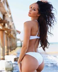 Hope Beel in a bikini - ass