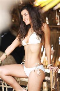 Kelly Schembri in a bikini