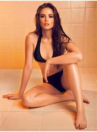 Georgina Wilson in a bikini