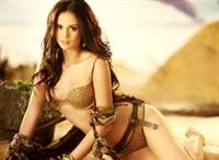 Georgina Wilson in lingerie