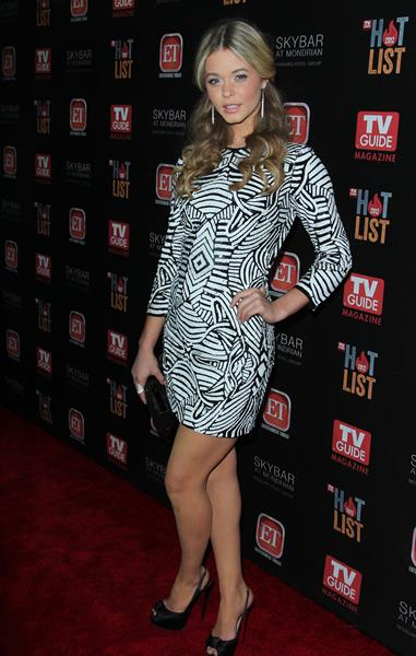 Sasha Pieterse TV Guide Magazine 2012 Hot List Party in Hollywood 11/12/12