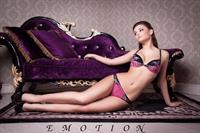 Yulia Kaunova in lingerie