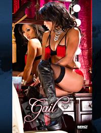 Gail Kim in lingerie