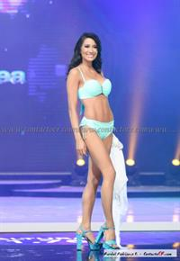 Elena Correa in a bikini