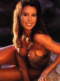 Rachel McLish in a bikini