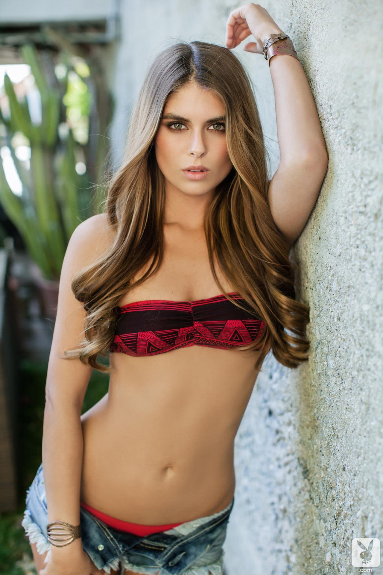 Tierra Lee in a bikini