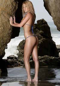 Chanel West Coast in a bikini - ass
