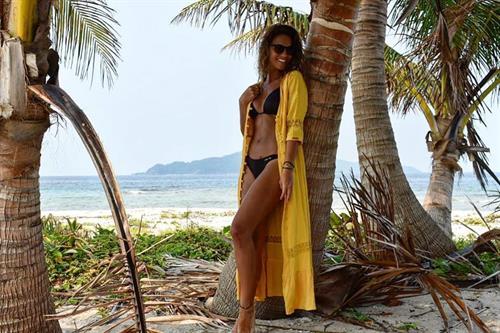 Lara Alvarez in a bikini