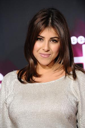 Daniella Monet TeenNick HALO awards in Hollywood 11/17/12