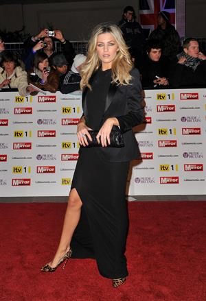 Abigail Clancy at the Pride of Britain awards on November 8, 2010