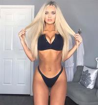 Savannah Morris in a bikini