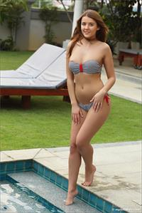 Kailena in a bikini