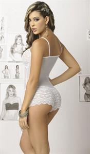 Sandra Valencia in lingerie - ass