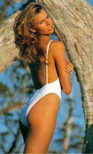 Niki Taylor in a bikini - ass
